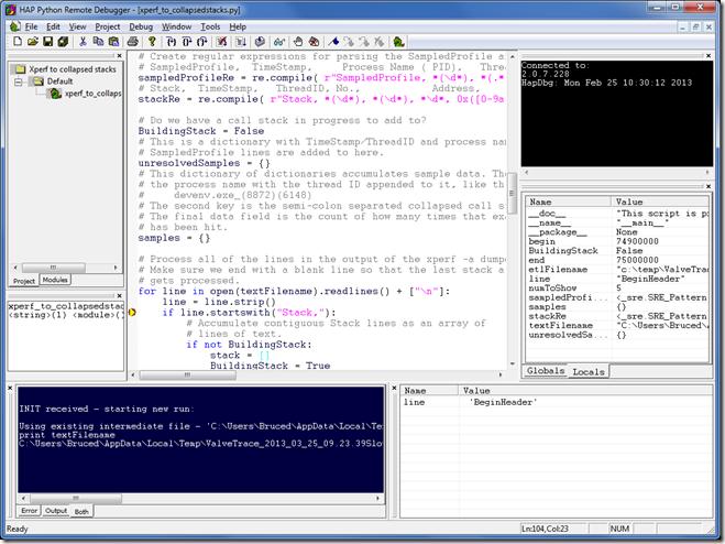 Python Debugger Update | Random ASCII – tech blog of Bruce
