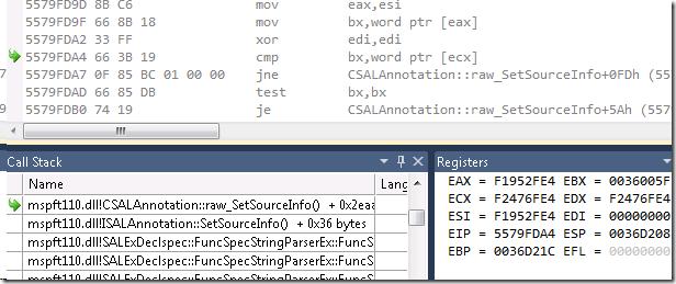 VC++ /analyze Bug Finder Bug Fixed   Random ASCII – tech blog of