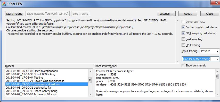 UIforETW – Windows Performance Made Easier | Random ASCII
