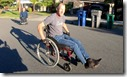 Wheelchair, day 15, September 24th