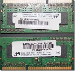 Memory DIMMs